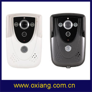 Latest Portable WiFi Video Door Bell Ox-Wd1 with Intercom and Camera Control by Smartphone (support Android and IOS devices) pictures & photos