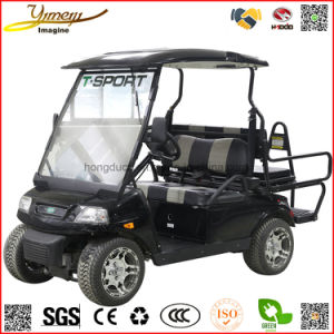 Sport Model Car 4WD Electric Golf Cart 4 Seats SUV 4 Wheel Vehicle Sightseeing Jeep pictures & photos