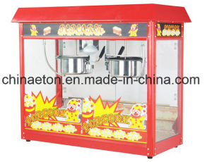 2016 Automatic Fashioned Commercial Electric Popcorn Maker, Popcorn Machine with Two Stainless Steel Pots (ET-POP6A-2) pictures & photos