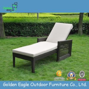European Wicker Furniture Resin Garden Sun Lounger Chairs