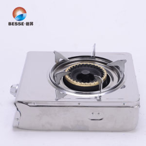 Single Burner Gas Cooker, Stainless Steel, pictures & photos
