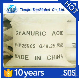 China supplier chlorine stabilization cyanuric acid price per ton pictures & photos
