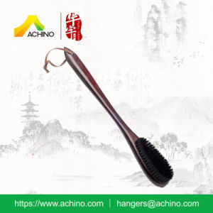Clothes Protect Wooden Long Handle Brush (AWBH-104-Mahogany) pictures & photos