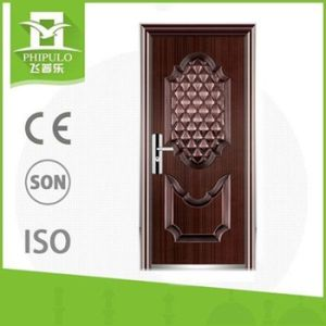 New Design Metal Door Iron Steel Security Door pictures & photos