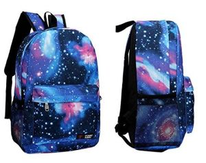 Xiamen New Travel Hot Sale Unisex Galaxy School Backpack Bag pictures & photos