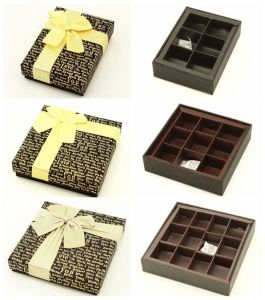 Luxury Gift Packaging Chocolate Paper Box pictures & photos