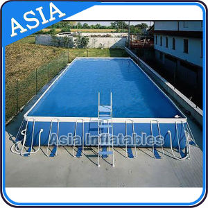 Durable Above Ground Pool Metal Frame Round Swimming Pool pictures & photos