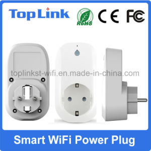 Smart Wireless Remote Control WiFi EU Type Power Switch Socket Support Alexa pictures & photos