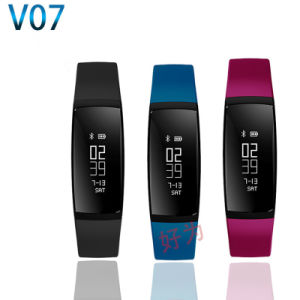 Waterproof Ipx7 Sports Watch Heart Rate Monitoring Smart Bracelet for Android iPhone pictures & photos