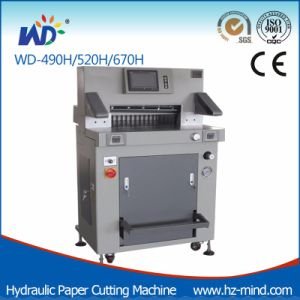 Paper Machine Paper Cutting Machine (WD-520H) pictures & photos