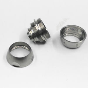 Non-Standard CNC Turning Stainless Steel Threaded Flange Parts pictures & photos