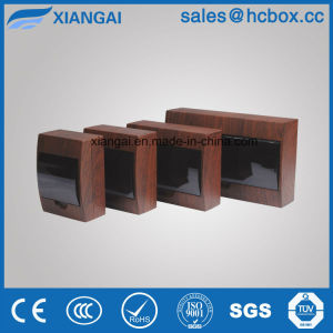 Plastic Distribution Box Brown Wooden Color Distribution Box Newest Color Tsm Box pictures & photos