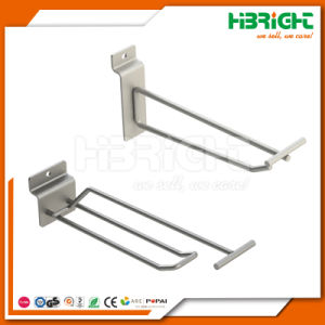 Single Double Wire Metal Hook for Retail Store pictures & photos