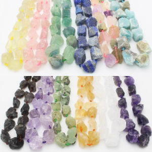 Rough Natural Stone Freeform Beads for Jewelry pictures & photos