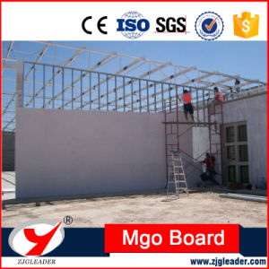 100% Non Asbestos Fiber Glass Fireproof MGO Board Supplier pictures & photos