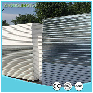 970mm Color Steel Sheet Polyurethane Sandwich Panel for Warehouse pictures & photos