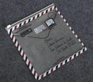 Creative Transparent Color Zipper Bags Customized PVC File Bag Custom pictures & photos