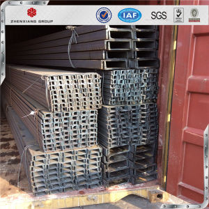 Hot Selling Mild Steel Made in Factory U Channel Steel Price Steel Beams pictures & photos