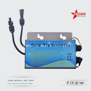 250W DC 22-50V Waterproof Grid Tied Solar Micro Inverter for Outdoor Use pictures & photos