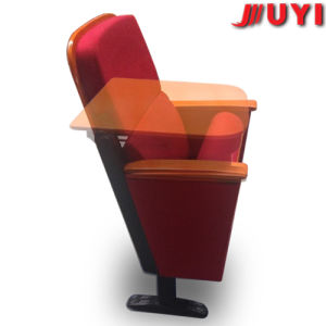 Trusted Supplier Cushion Fabric Cover Steel Legs Collapsible Backrest Upgrade Lecture Audience Used Wood Folding Chairs pictures & photos