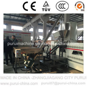 Water Cooled Waste Plastic Recycling Machine for Both Film & Flakes pictures & photos