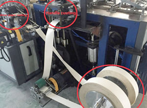 Automatic Handle Paper Cup Making Machine pictures & photos