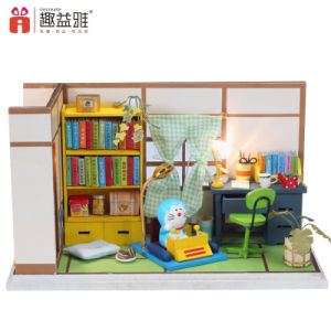 Mini Wooden Furniture in Study Room DIY Toy pictures & photos