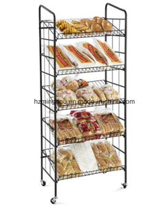 Factory High Quality Metal Supermarket Display Shelf Food Shelf pictures & photos