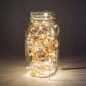 Replaceable Battery Operated 2 M LED Copper Wire Glimmer String Light pictures & photos