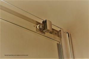 Hr-07-D Classic Sliding Bathtub Screen Shower Screen pictures & photos