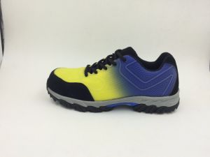 New Material Kpu Upper Casual Style Safaty Shoes (16016-A) pictures & photos