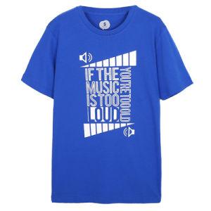 Wholesale Men Round Neck T-Shirts Fashion Printed Cotton T-Shirts pictures & photos