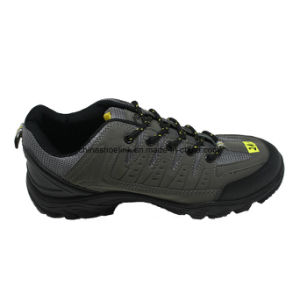 Hot Men Leather Hiking Shoes Trekking Shoes pictures & photos