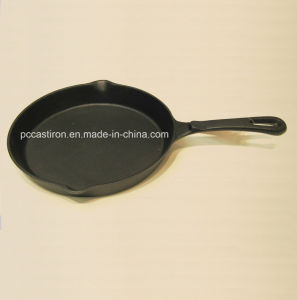 Preseasoned Cast Iron Skillet Factory China pictures & photos