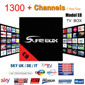 Android TV Box Arabic IPTV Turkey TV Kodi 17.1 4k Video E8 TV Box Good Than X96 pictures & photos