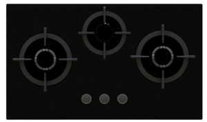 3 Burners Tempered Glass Gas Stove pictures & photos
