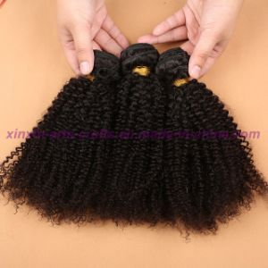Best Quality 8A Malaysian Kinky Curly Virgin Hair Extensions Unprocessed Kinky Curly Human Hair Extensions for Black Women pictures & photos