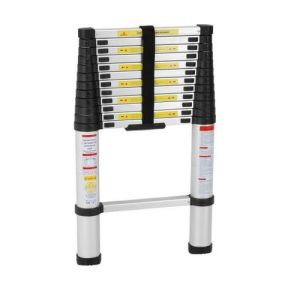 2.6m Aluminum Telescopic Ladder with Good Quality pictures & photos