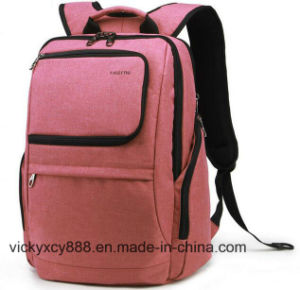 Double Shoulder Fashion Men Women Laptop Computer Leisure Backpack Bag pictures & photos