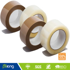 Premium BOPP Packing Tape Clear and Buff pictures & photos