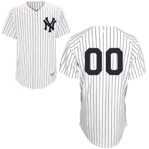 New York Yankees White Stripe Baseball Jersey pictures & photos