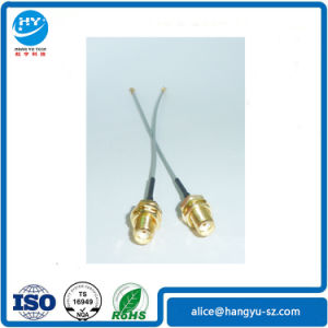 0.81-1.13 RF Cable Assembly with Ipex to SMA Female 1.13 Connector pictures & photos