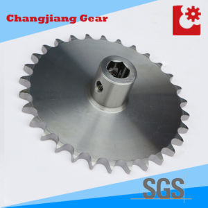 OEM Industrial Chain Stainless Standard Stock Sprocket with Hexagon Hole pictures & photos
