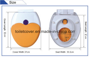Toilet Seats with Kids and Child Seat with Slow Closed Function pictures & photos