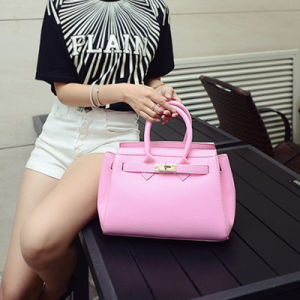 Factory Reasonable Lady Fashion PU Bag pictures & photos