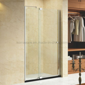 Hotcake Frameless Piovt Shower Door Screen Room Enclosure pictures & photos