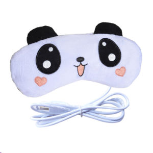 Promotion Teddy Bear Electric Powered Heated USB Heated Eye Pillow pictures & photos