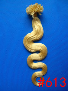 Body Wave U Tip Human Hair Extension /Nail Tip Hair/Indian Hair