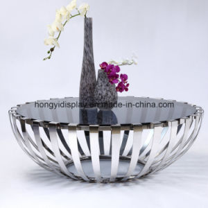 Stainless Steel Round Coffee Table pictures & photos
