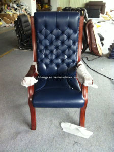 High Back Navy Blue Magistrate Chair Button Tufted Chair (FOH-A88) pictures & photos